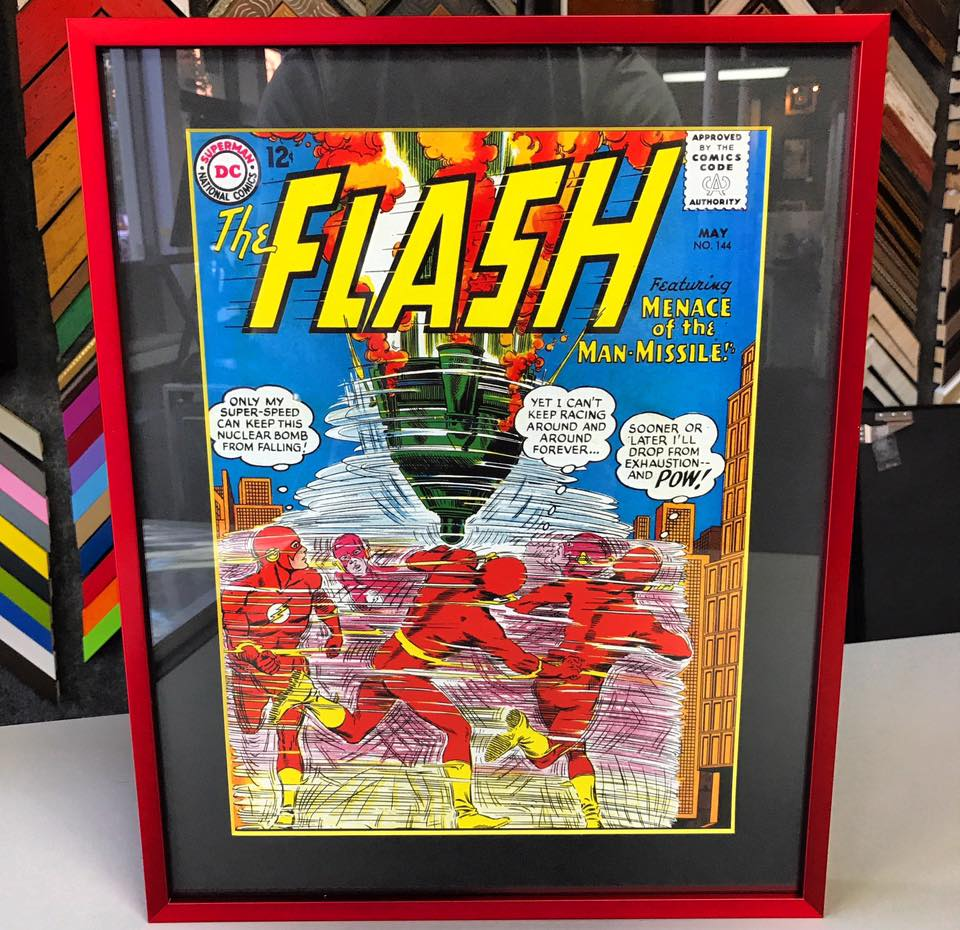 Comic Book Framing Denver | FastFrame of LoDo - Expert Picture Framing
