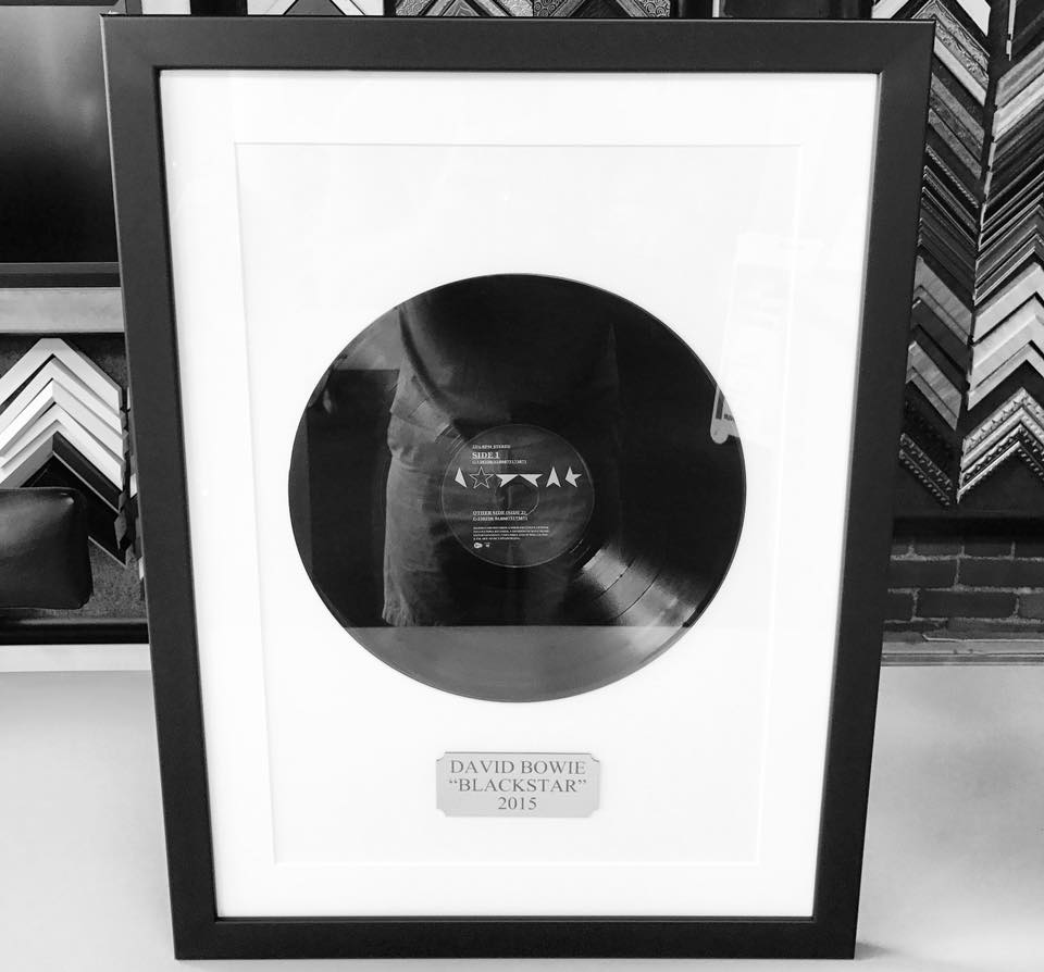 Custom Framed Record Denver