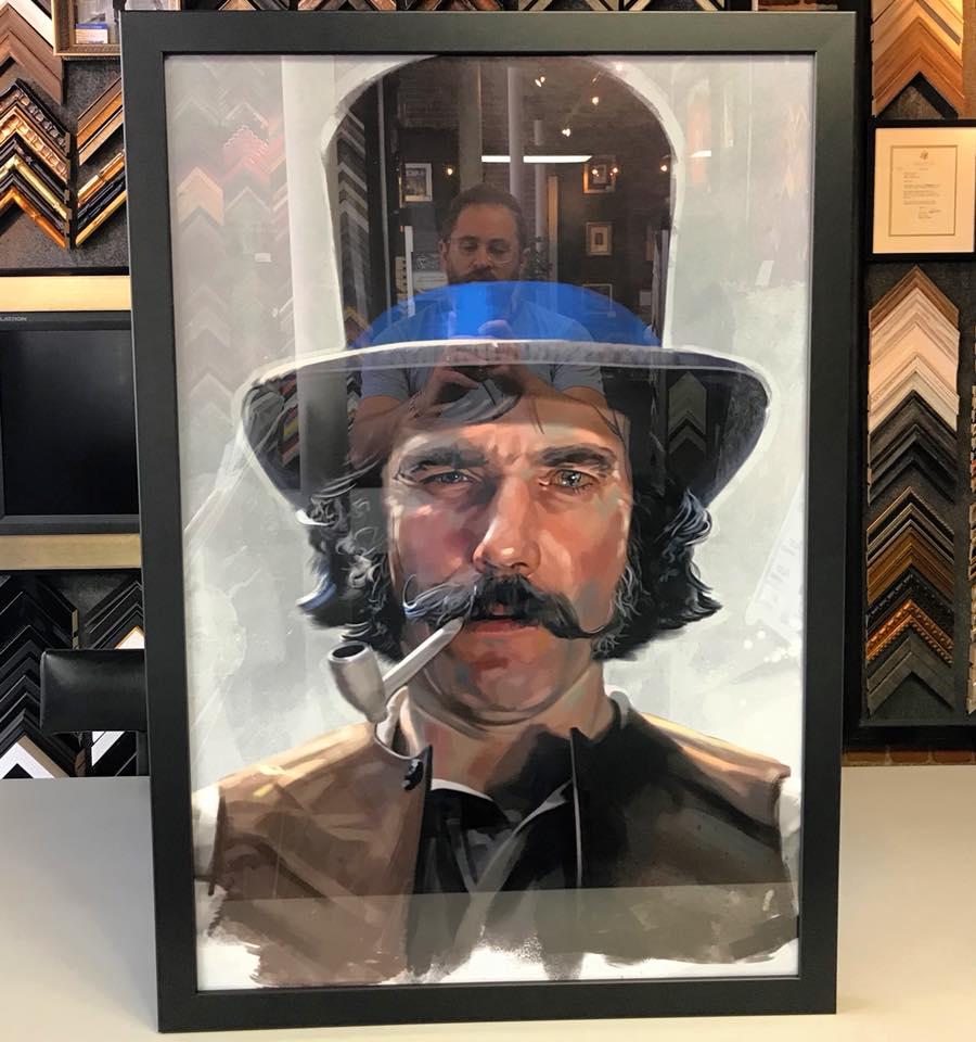 Bill The Butcher Custom Framed Art