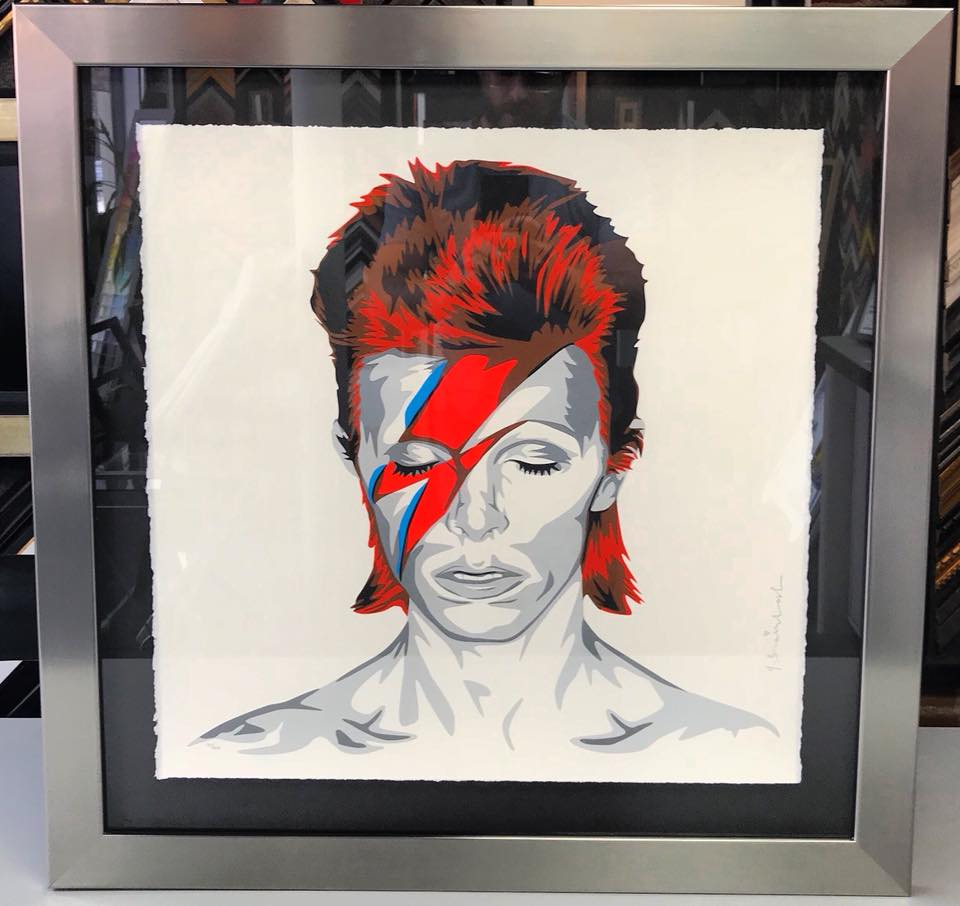 Ziggy Stardust by Mr. Brainwash
