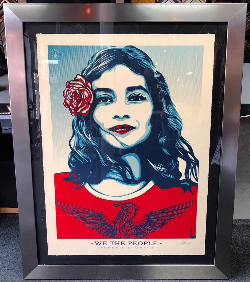 """We The People"" by Shepard Fairey"