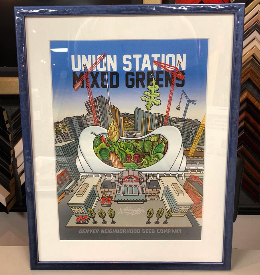 Union Station Mixed Greens by Kenny Be