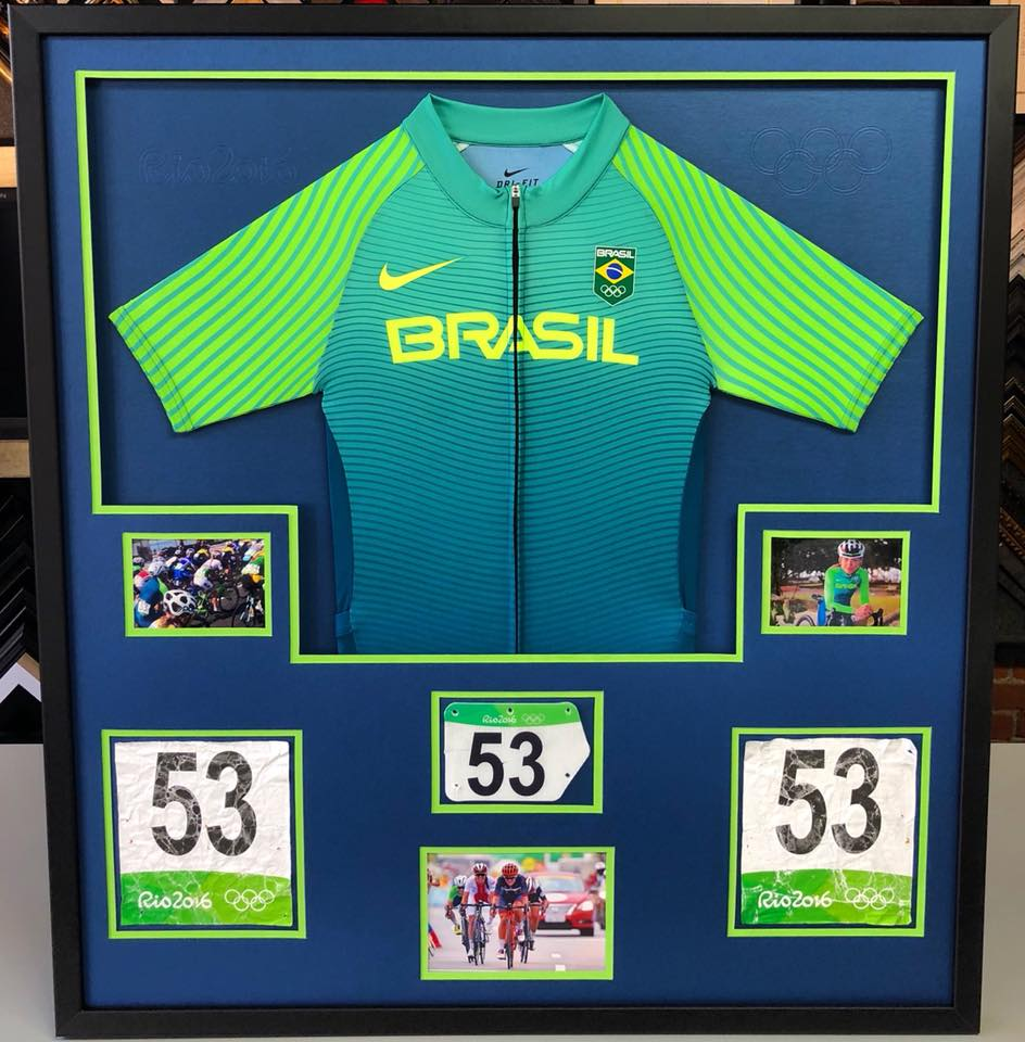 Framebridge fastframe of lodo expert picture framing sports jersey framing denver jeuxipadfo Gallery