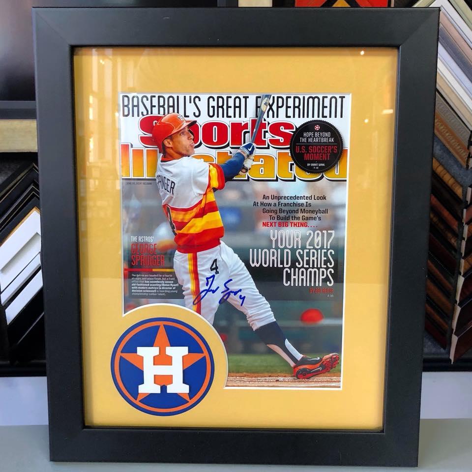 Jersey Framing & Sports Framing – Fastframe Of Lodo – Denver, Co ...