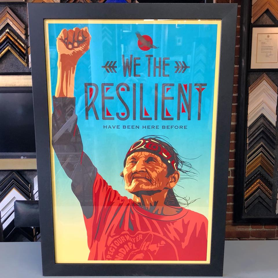 """We The Resilient"" by Shepard Fairey"