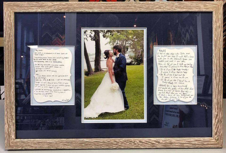 Wedding Picture Framing Denver