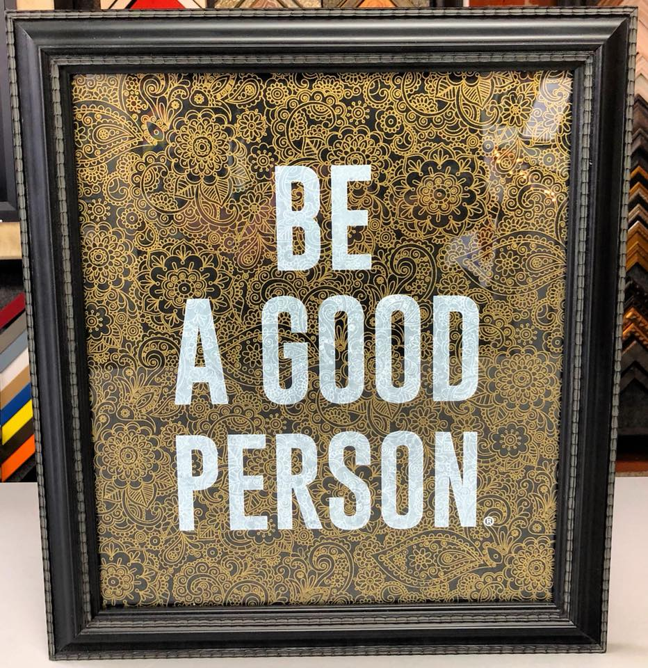 Be A Good Person Brand