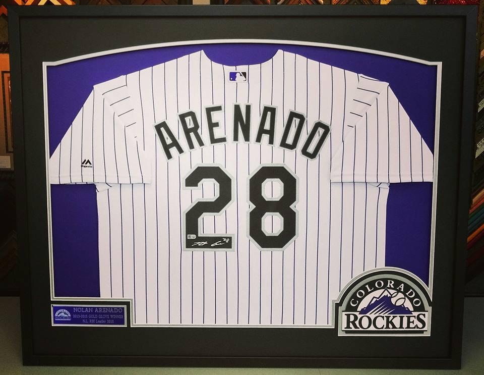 Nolan Arenado Framed Jersey d54c487b7