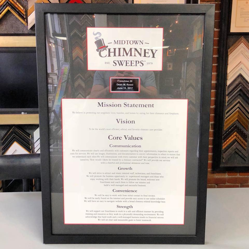 Midtown Chimney Sweeps   FastFrame of LoDo - Expert Picture Framing