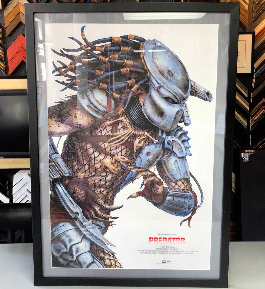 Fastframe of lodo expert picture framing custom framed predator mondo art solutioingenieria Choice Image