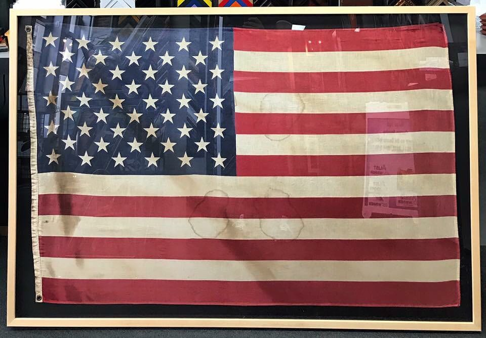 American Flag | FastFrame of LoDo - Expert Picture Framing