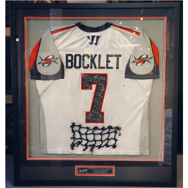 Bocklet Autographed Jersey