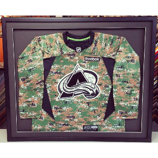 Colorado Avalanche Camouflage Jersey