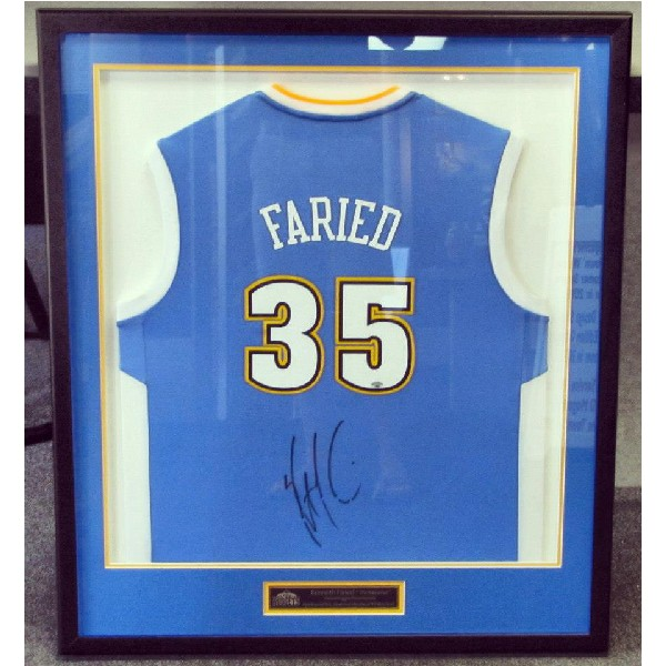 Kenneth Faried Autographed Jersey 12