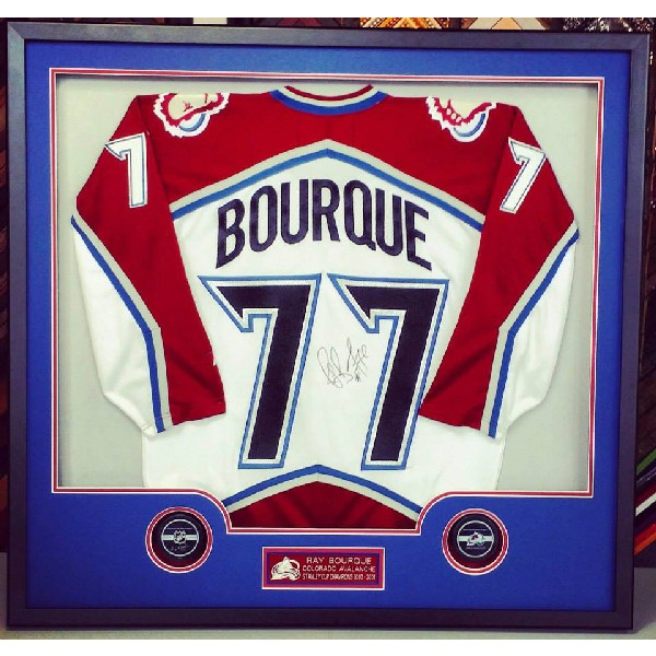 Colorado Avalanche Autographed Ray Bourque Jersey