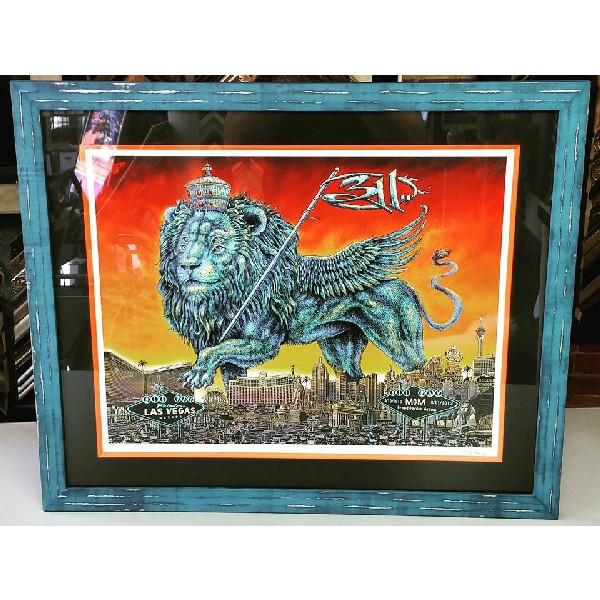 Limited Edition Print & Concert Poster Framing